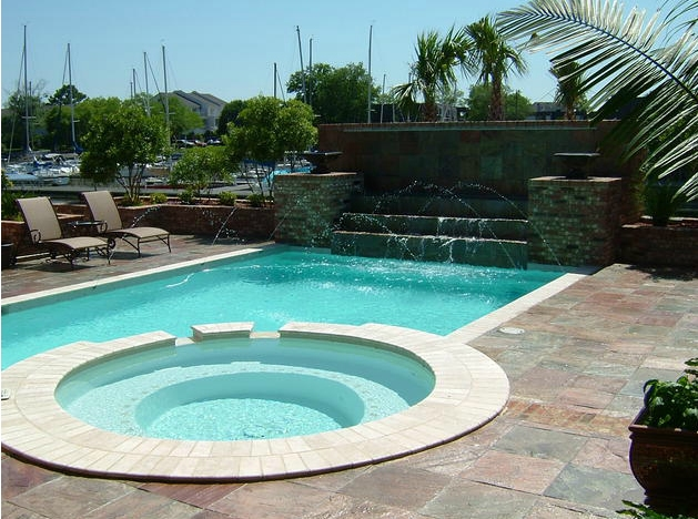 central mississippi pool and spa builder project gallery