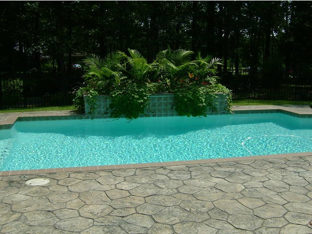 Central mississippi pool and spa builder project gallery for Pool and spa builders